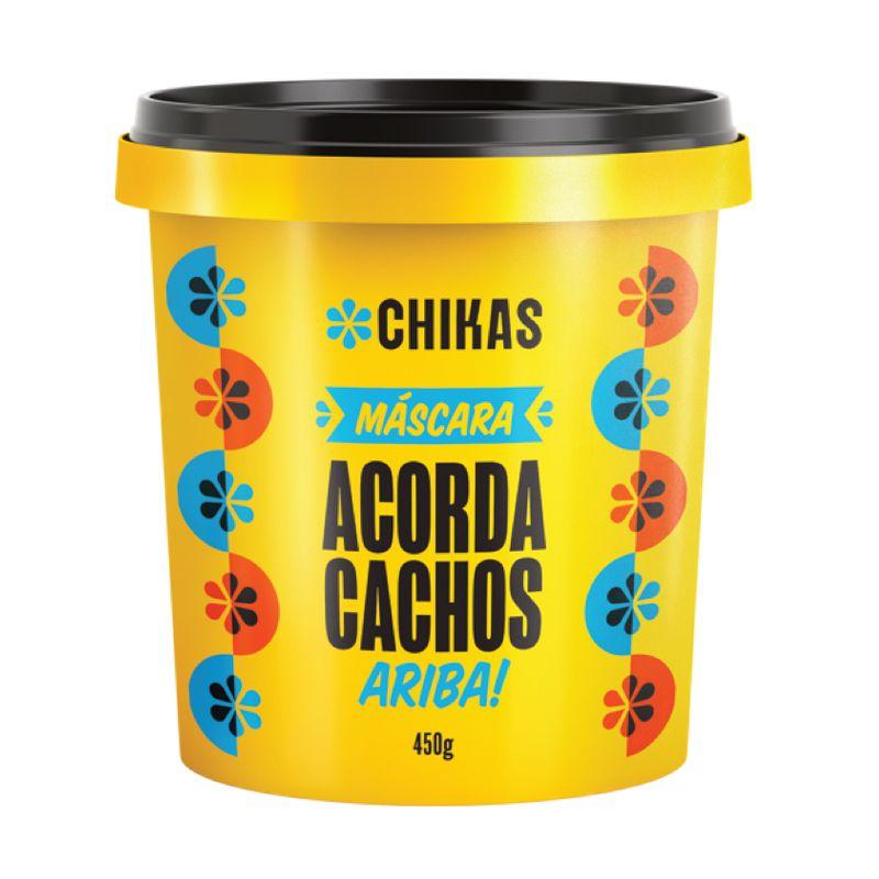 Máscara Chikas Acorda Cachos 450g