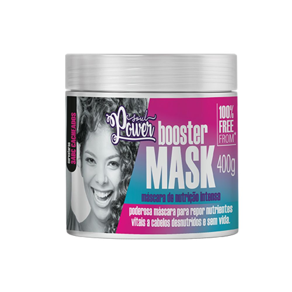 Máscara de Nutrição Intensa Soul Power Booster Mask 400g