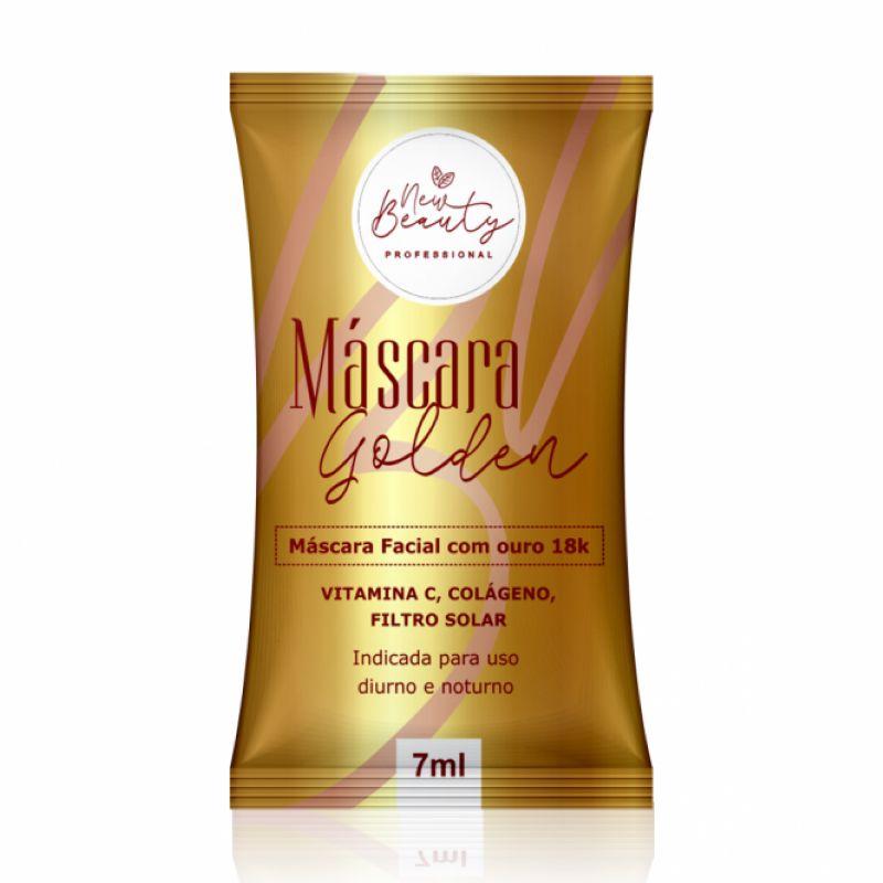 Máscara Golden New Beauty 7 ml