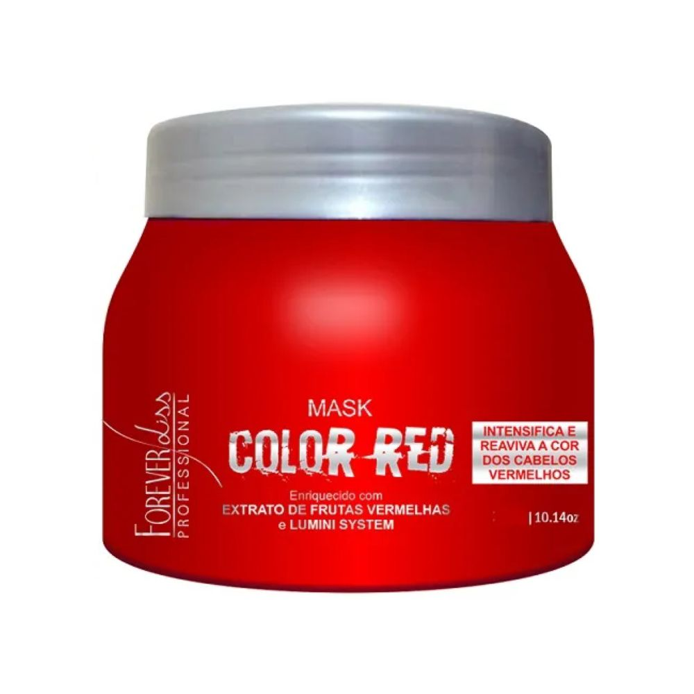 Máscara Tonalizante Forever Liss Color Red 250gr