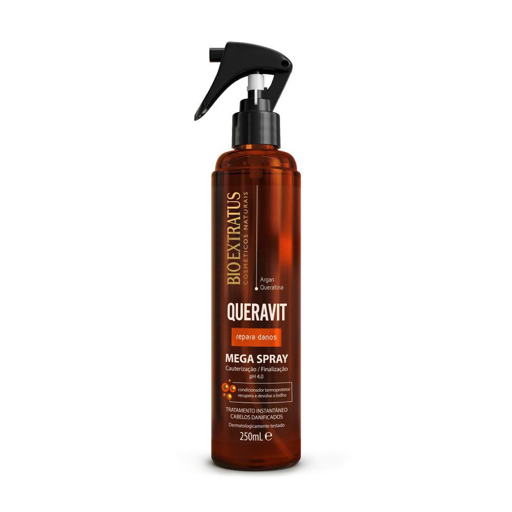 Mega Spray Bio Extratus Queravit Argan e Queratina 250ml