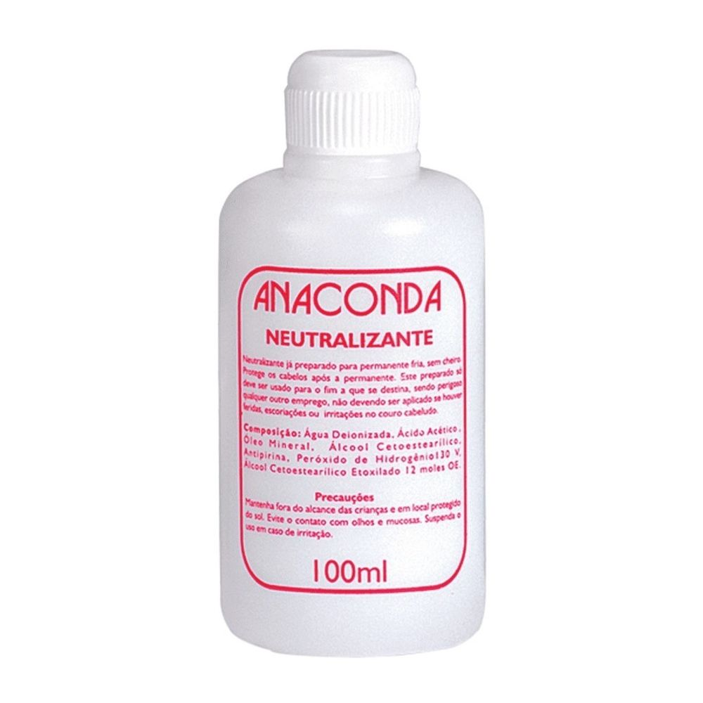 Neutralizante para Permanente Anaconda 100ml