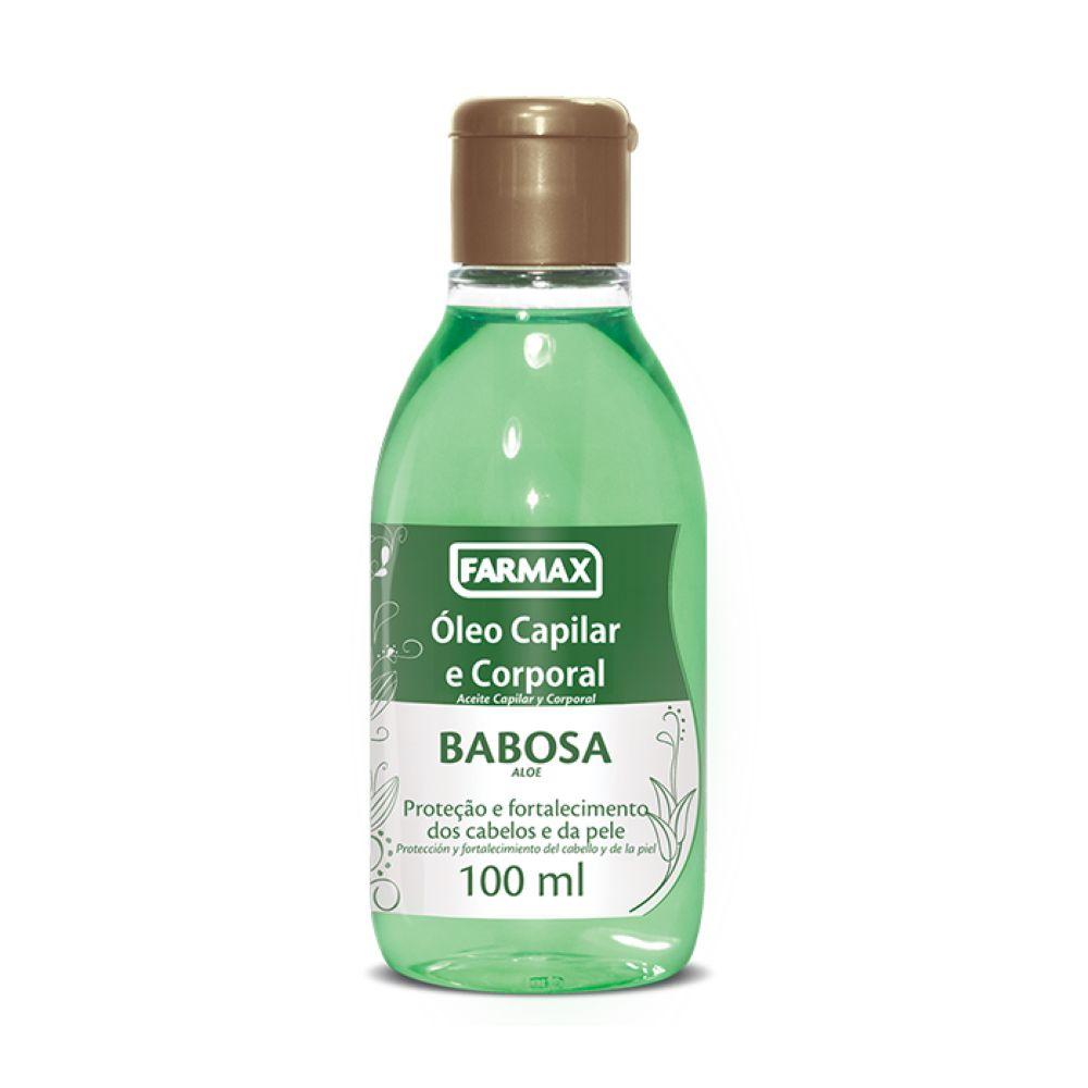 Óleo Cabelo & Corpo Babosa 100ml Farmax