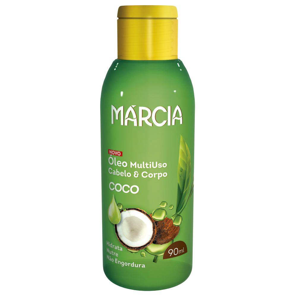 Óleo Cabelo & Corpo Coco 90ml Marcia