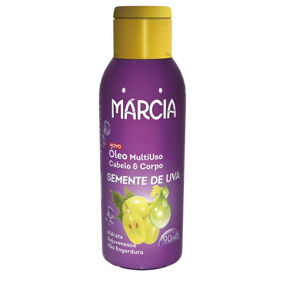Óleo Cabelo & Corpo Semente de Uva 90ml Marcia