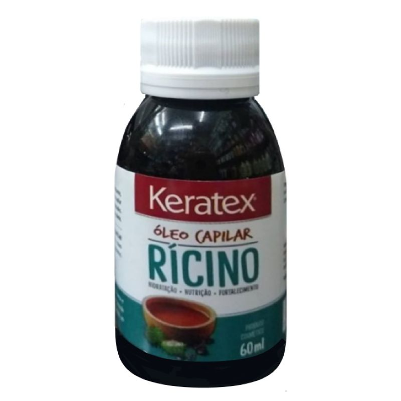 Óleo Capilar Rícino 60ml Keratex