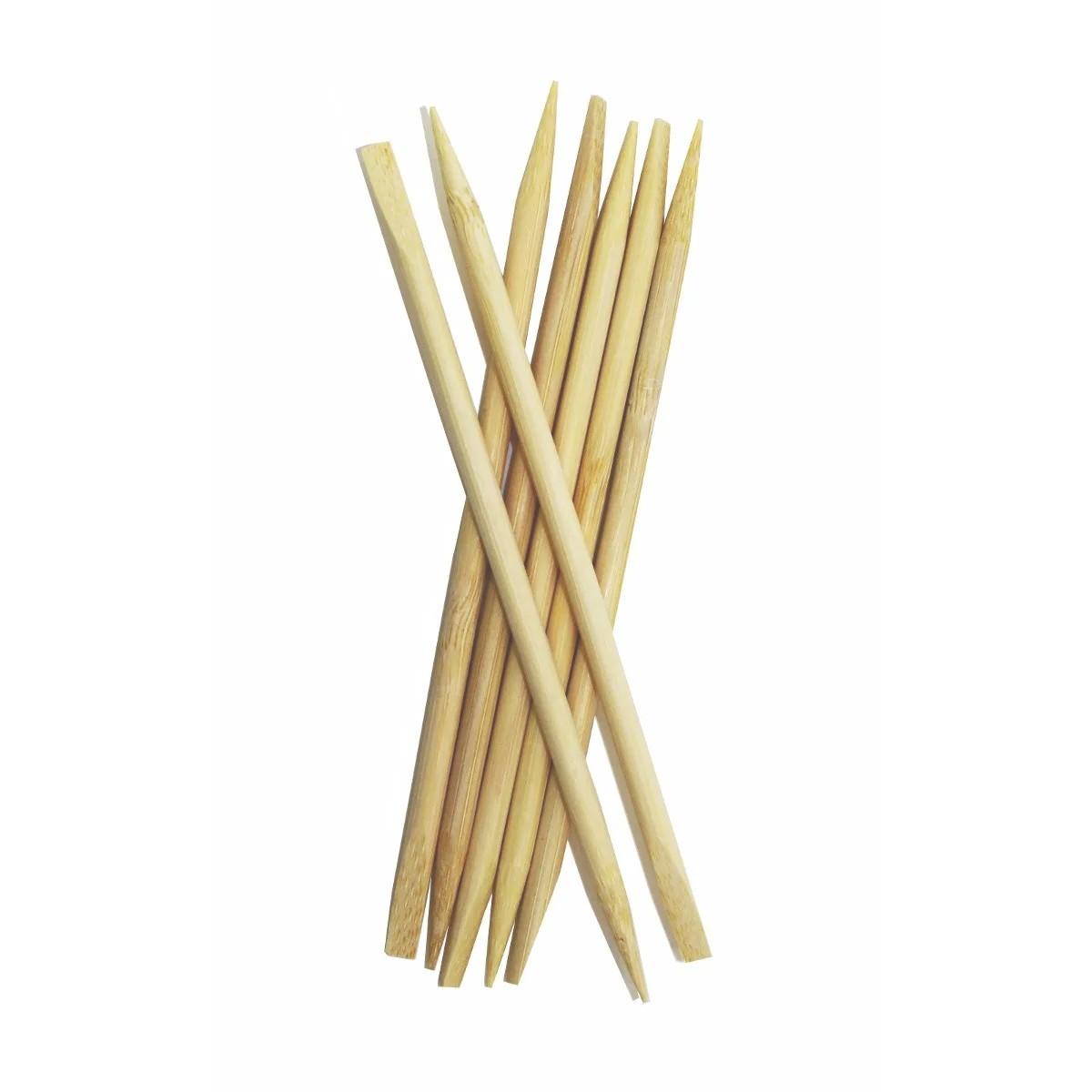 Palito para Unha Bambu Chanfro e Ponta 50un Vilty Care