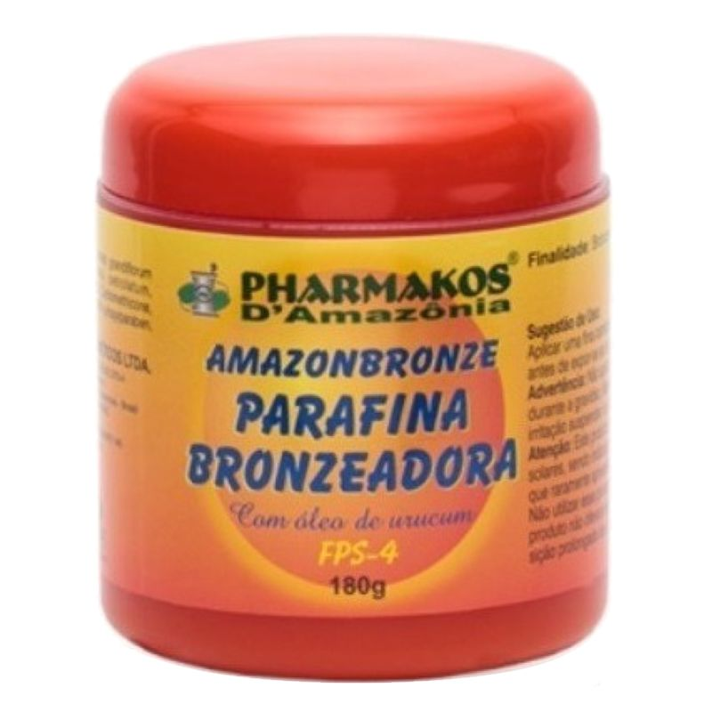 Parafina Bronzeadora Amazonbronze 180g
