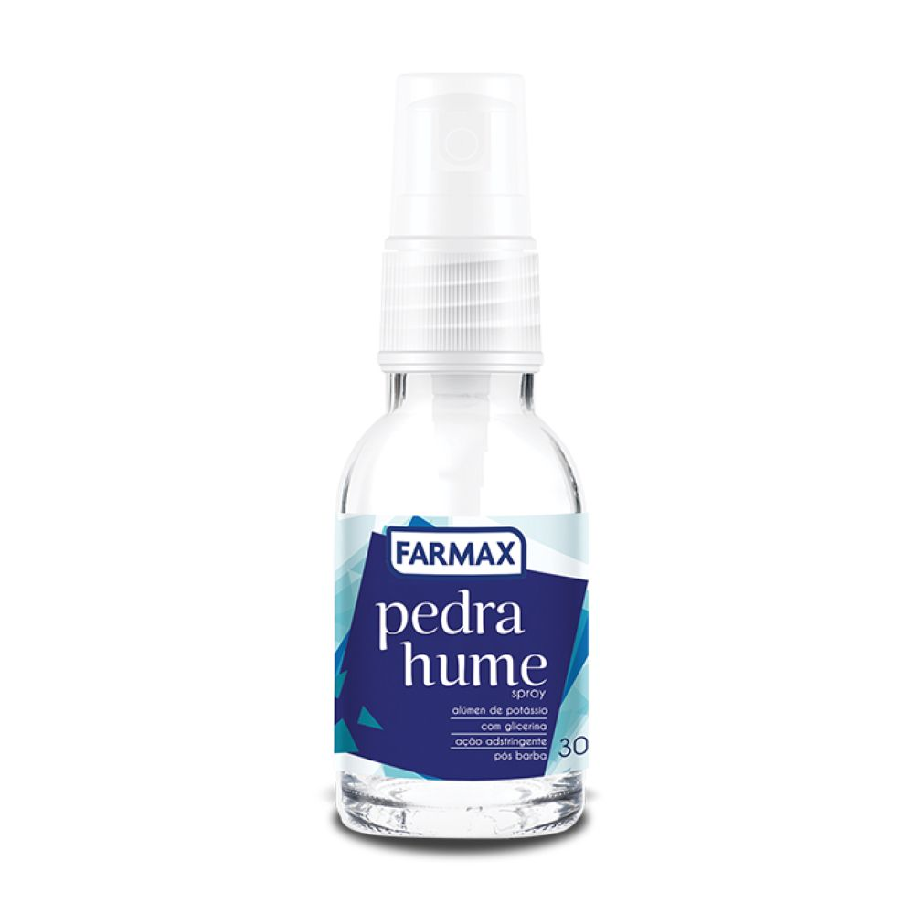 Pedra Hume em Spray Farmax 30ml