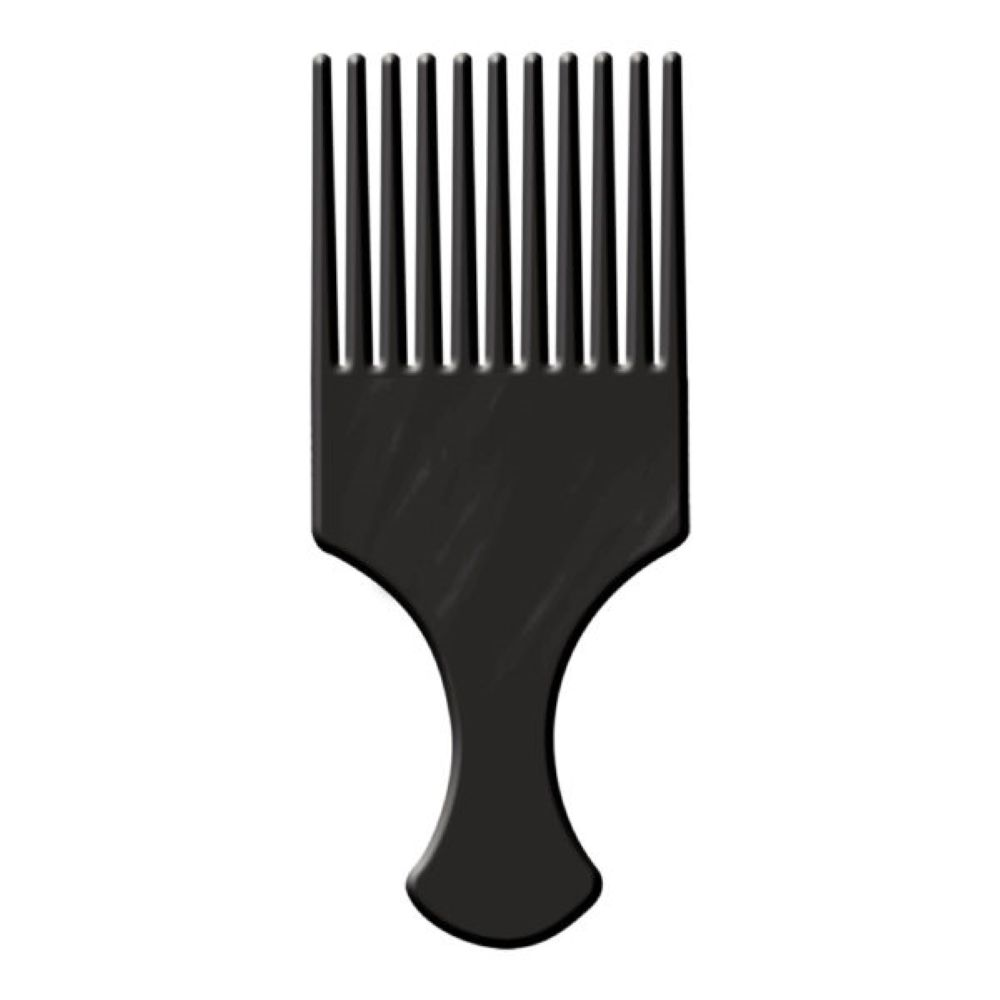 Pente Afro Dentes Largos Santa Clara  - Sofí Cosméticos