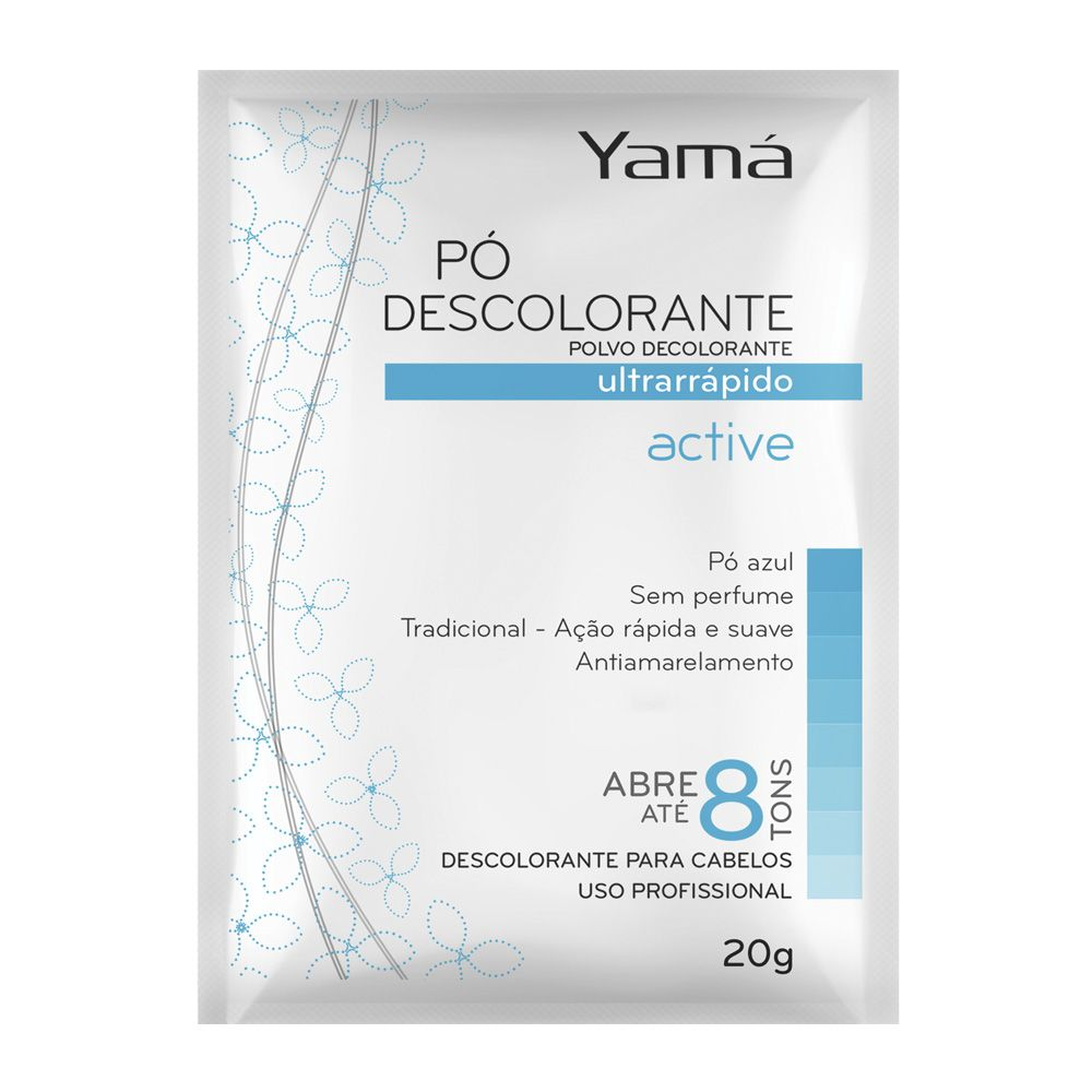 Pó descolorante Yamá 20g Active