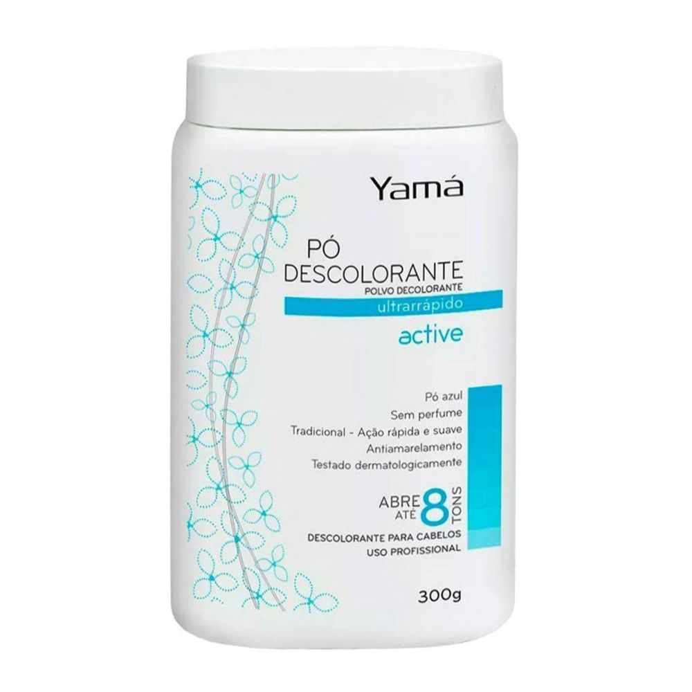 Pó descolorante Yamá 300g  Active