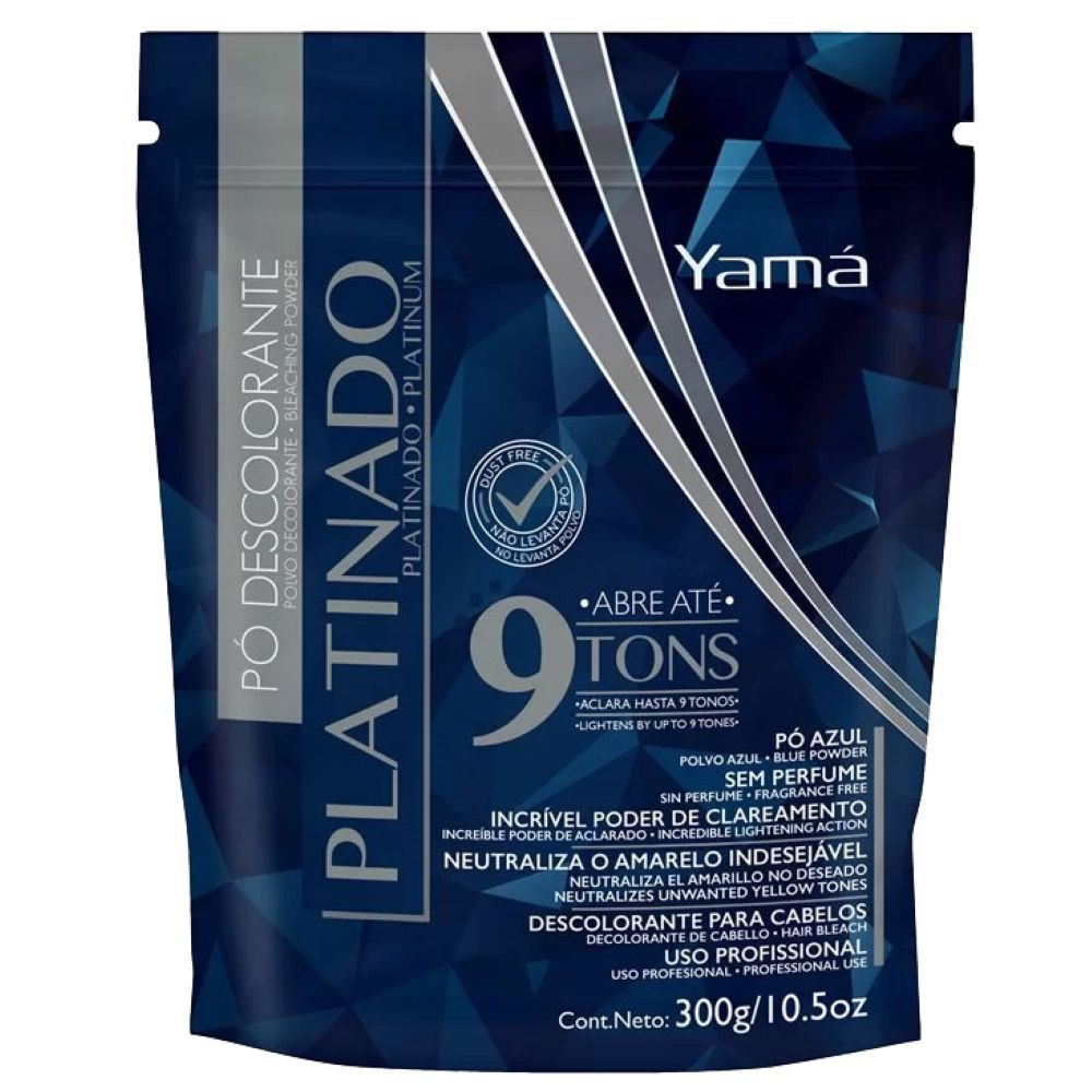 Pó descolorante Yamá 300g Platinado (Refil)