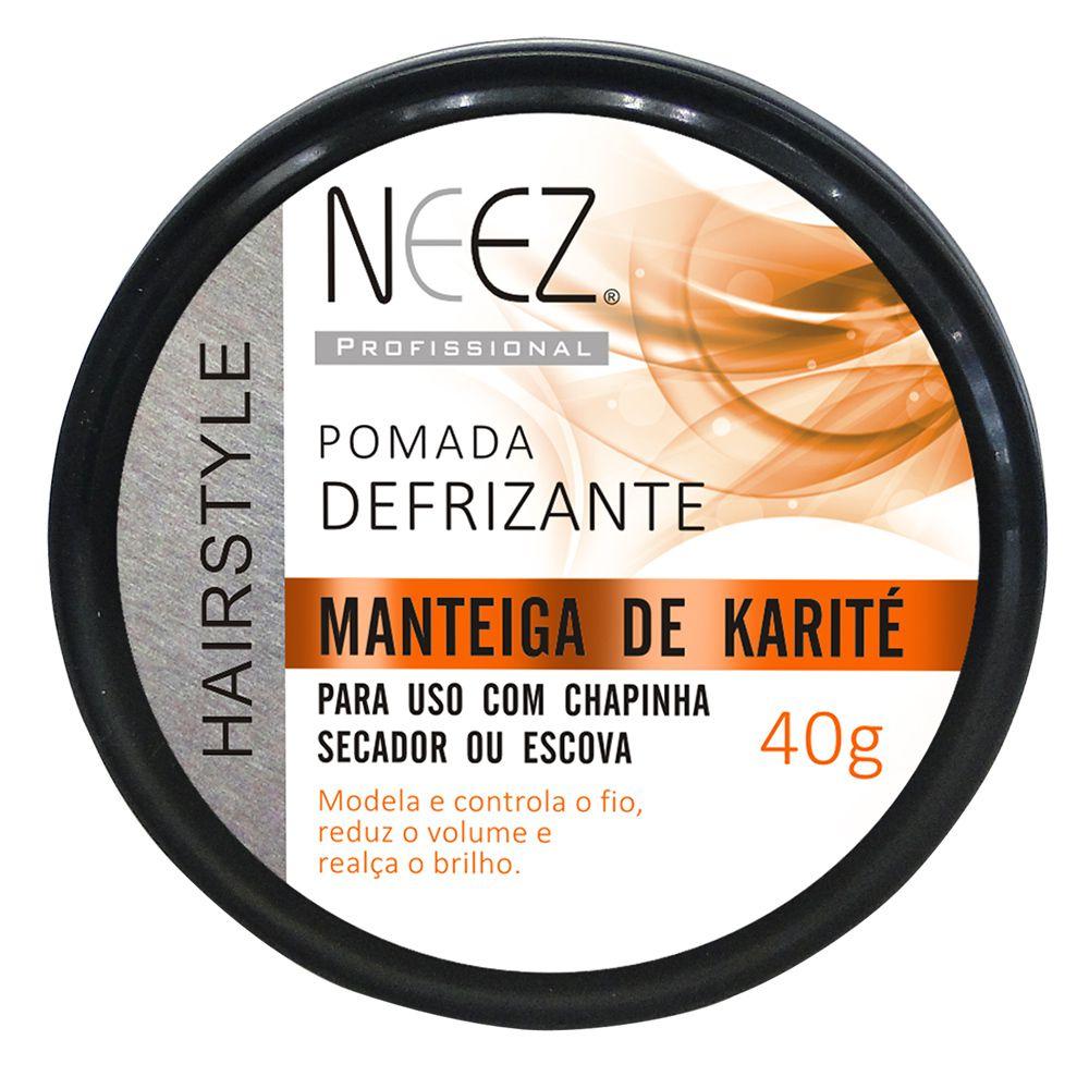 Pomada Finalizadora Neez Manteiga de Karité 40g