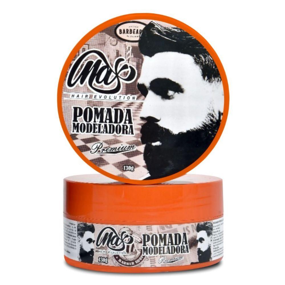 Pomada Modeladora Incolor Maxy Hair Premium 130g