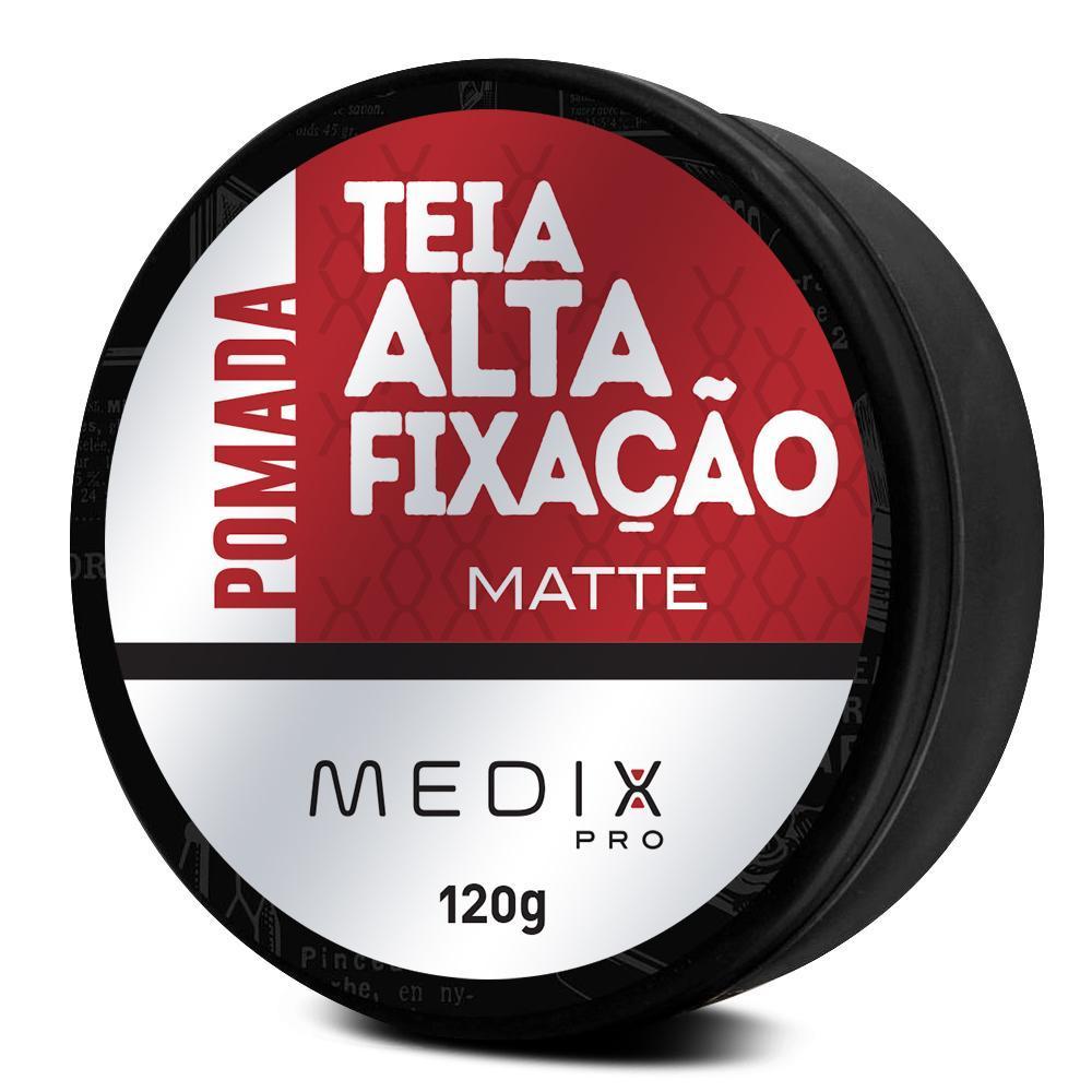 Pomada Teia Alta Fixação Matte Medix Pro 120g