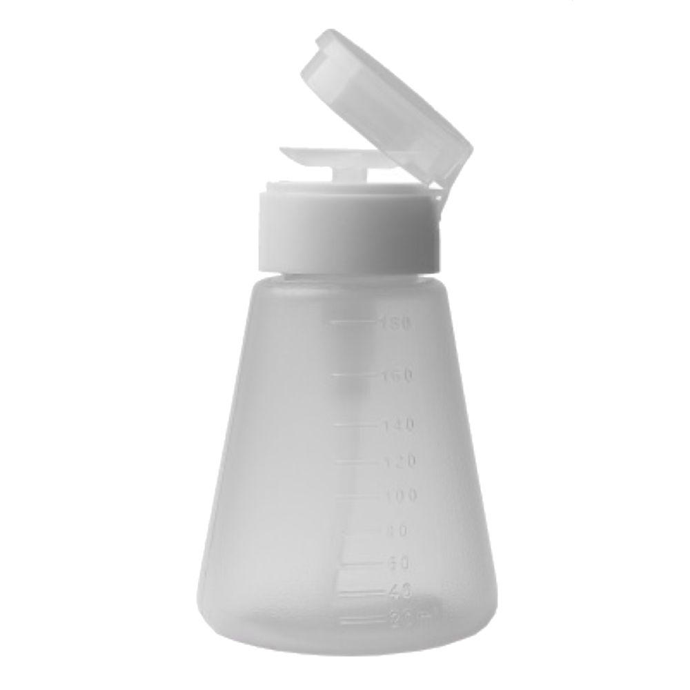 Porta Acetona plástico 180ml Elloplas