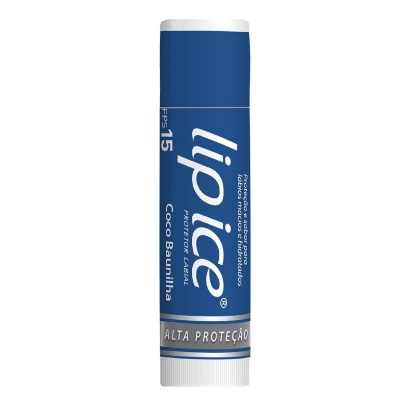 Protetor Labial Lip Ice Coco Baunilha Fps15