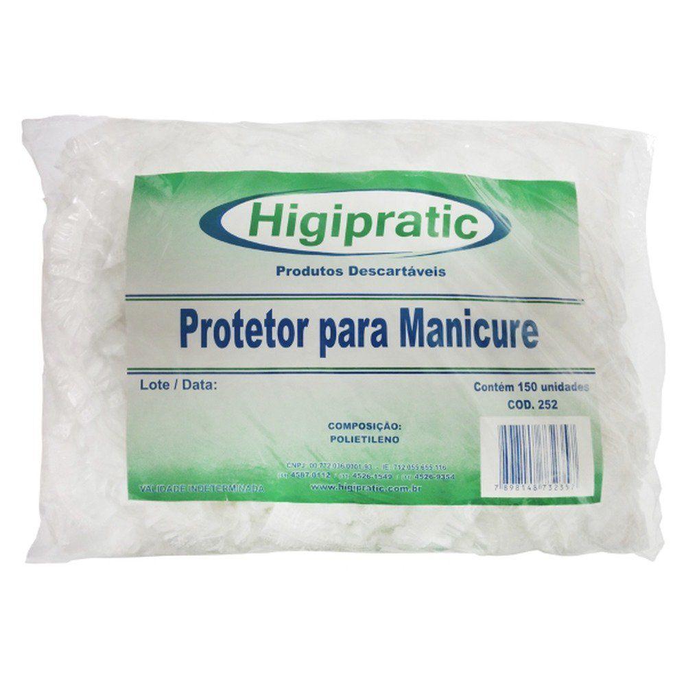 Protetor para Manicure Higipratic 150un