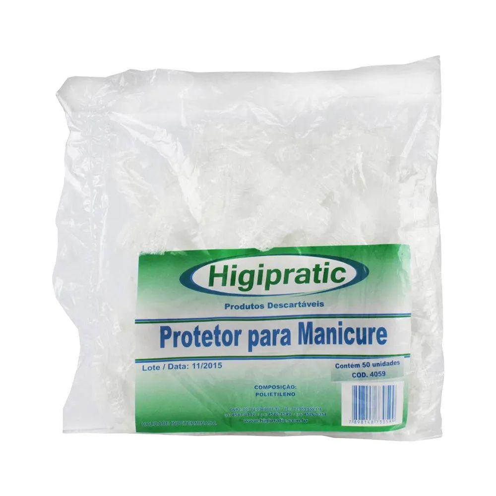 Protetor para Manicure Higipratic 50un
