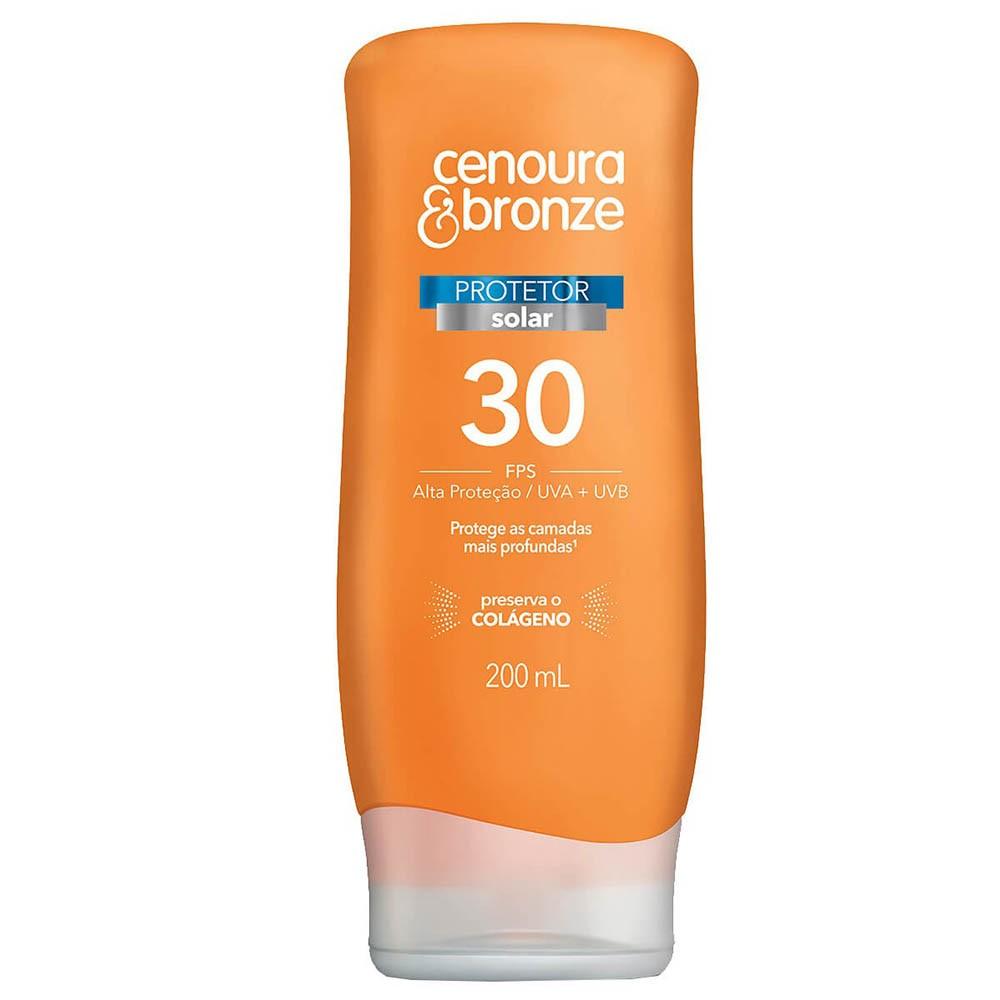 Protetor Solar Cenoura & Bronze FPS30 200ml