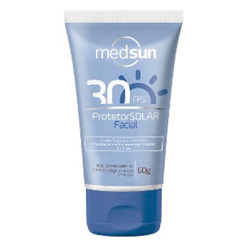 Protetor Solar Facial Medsun FPS30 60g