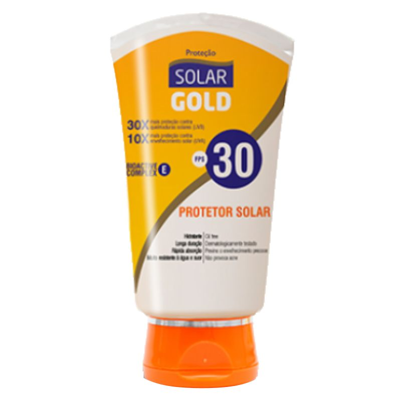 Protetor Solar FPS30 Solar Gold 200ml