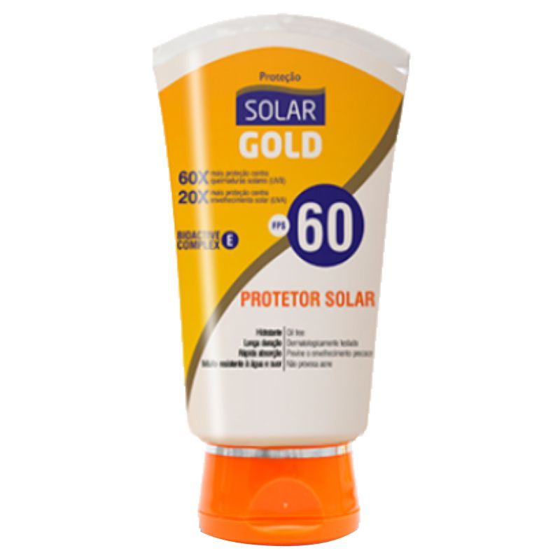 Protetor Solar FPS60 Solar Gold 200ml