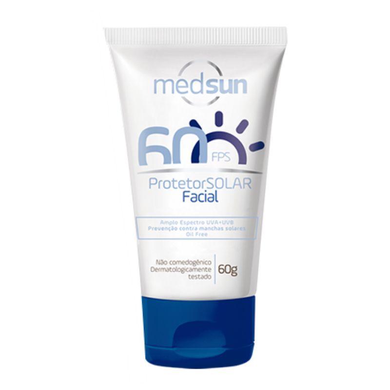 Protetor Solar Medsun Facial FPS60 60g