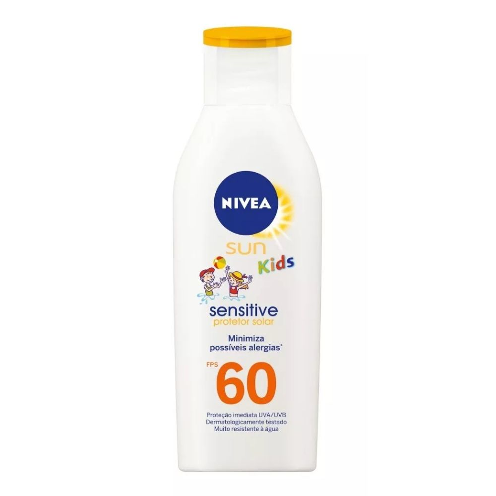 Protetor Solar Nivea Sun FPS60 Kids 100ml