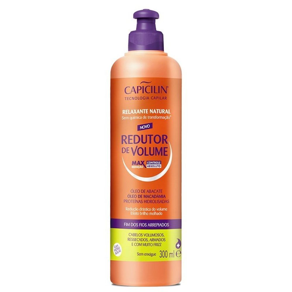 Relaxante Natural Redutor de Volume Capicilin 300ml