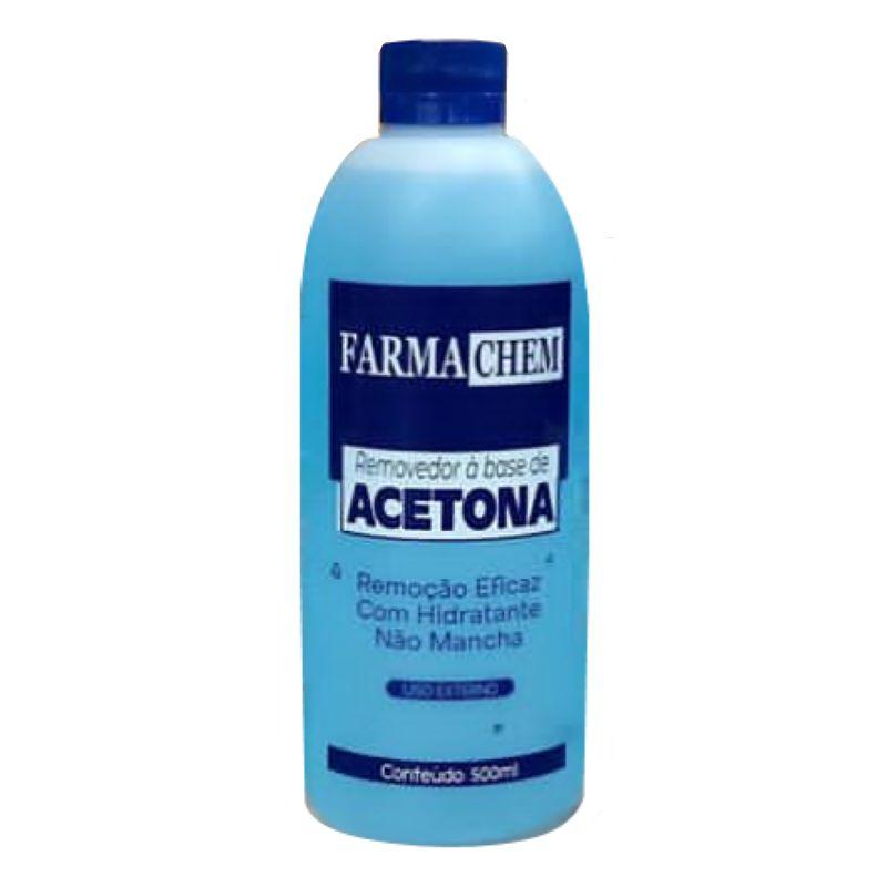 Removedor de Esmaltes Acetona FarmaChem 500ml