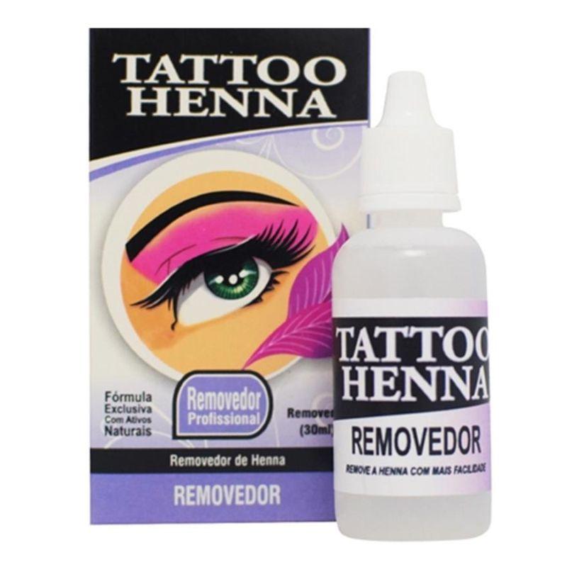 Removedor de Henna Profissional Tattoo Henna 30ml
