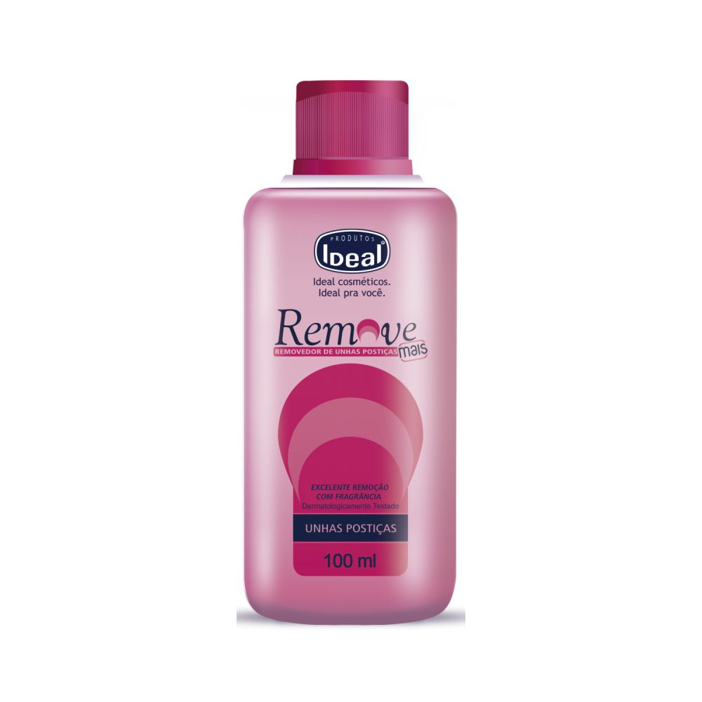 Removedor de Unha Postiça Ideal Remove Mais 100ml