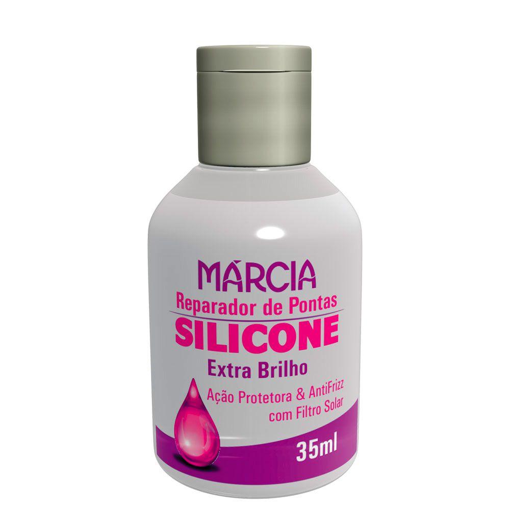 Reparador de Pontas Silicone Extra Brilho 35ml Marcia