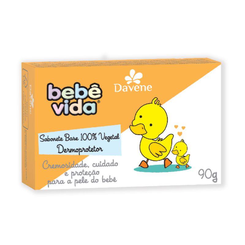 Sabonete em barra Bebê Vida 90g