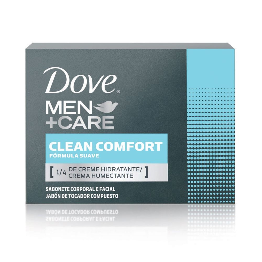 Sabonete em Barra Dove Men Care Clean Confort 90g