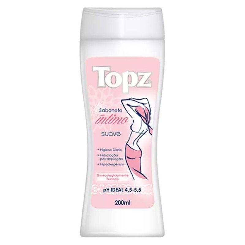 Sabonete Líquido Íntimo Topz Suave 200ml