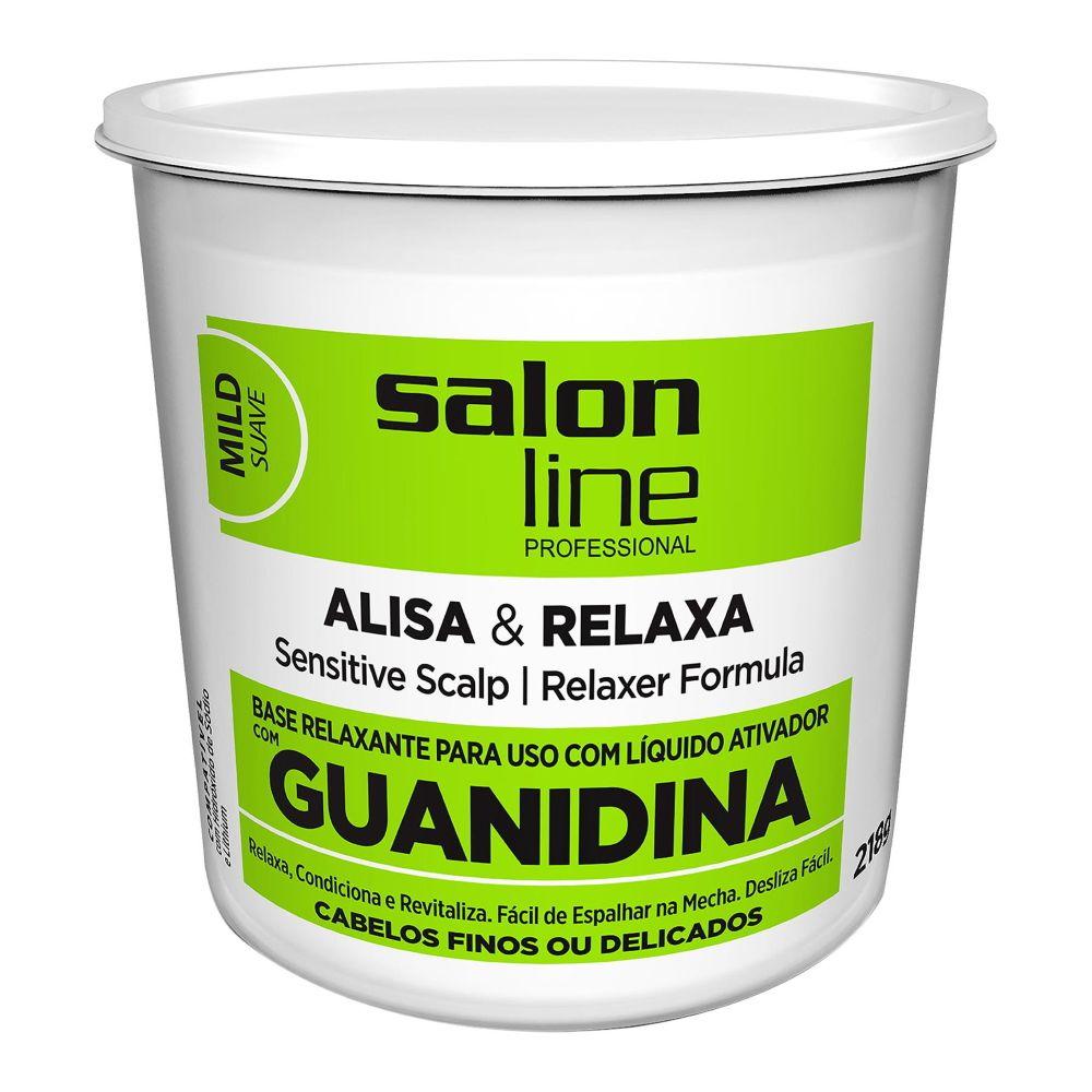Salon Line Guanidina Alisa e Relaxa - Mild