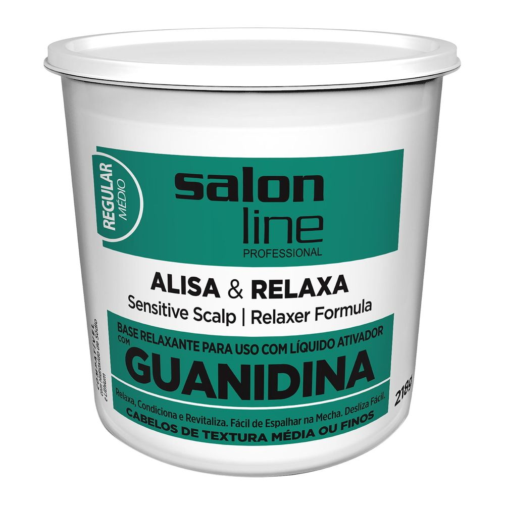 Salon Line Guanidina Alisa e Relaxa - Regular