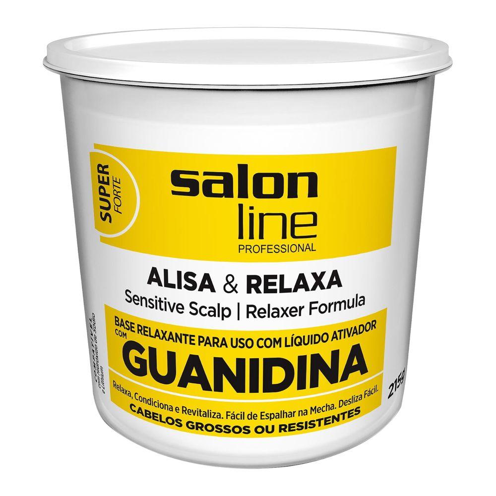 Salon Line Guanidina Alisa e Relaxa - Super