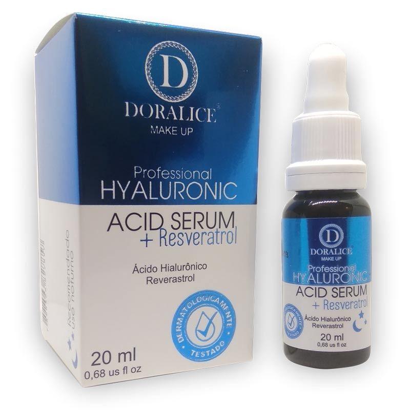 Serum Ácido Hialurônico + Reverastrol Doralice 20ml