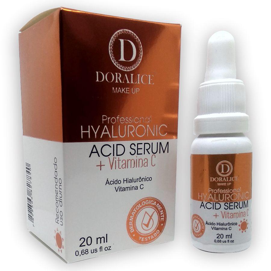 Serum Ácido Hialurônico + Vitamina C Doralice 20ml