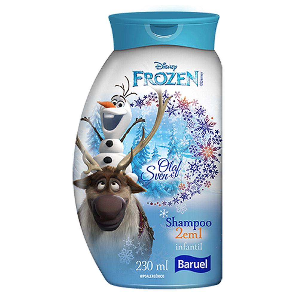 Shampoo 2 em 1 Frozen (Olaf e Sven) 230ml