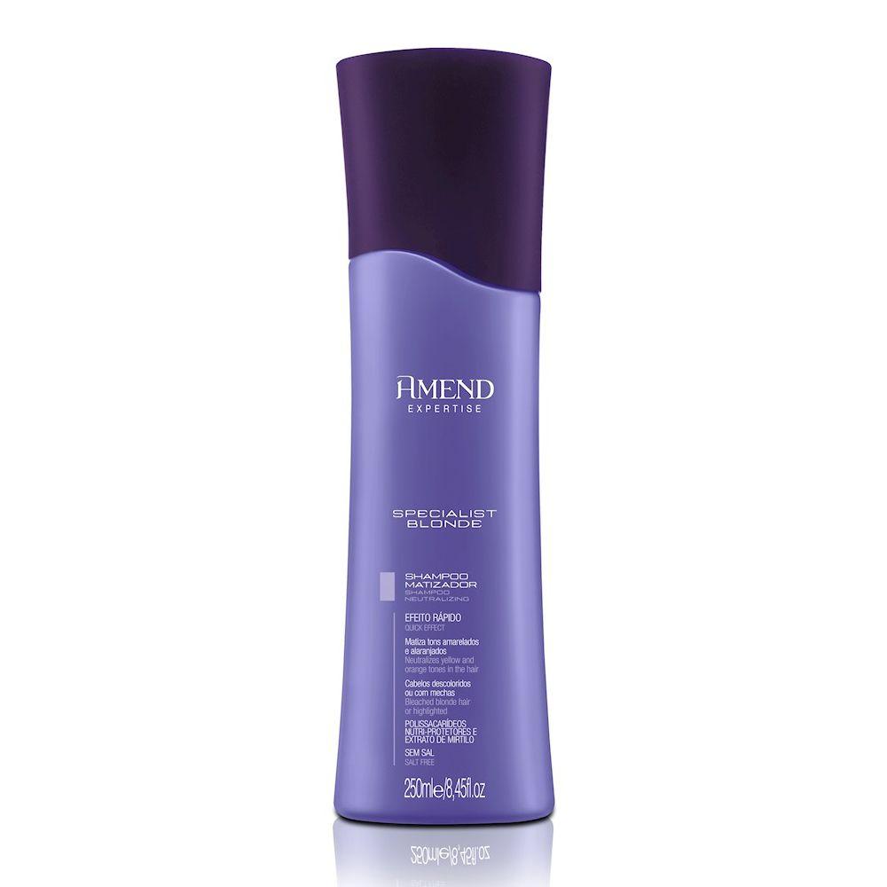 Shampoo Amend Matizador Specialist Blonde 250m
