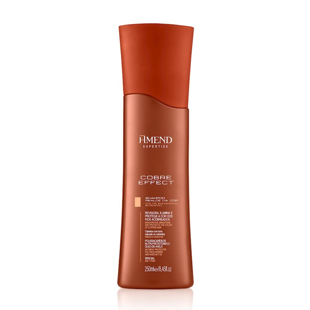 Shampoo Amend Realce da Cor Cobre Effect 250ml