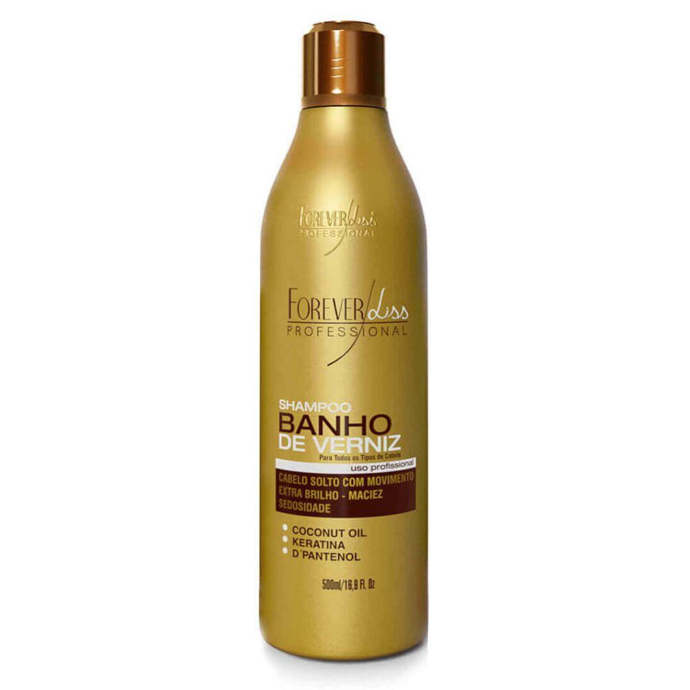 Shampoo Banho de Verniz Forever Liss 500ml  - Sofí Cosméticos