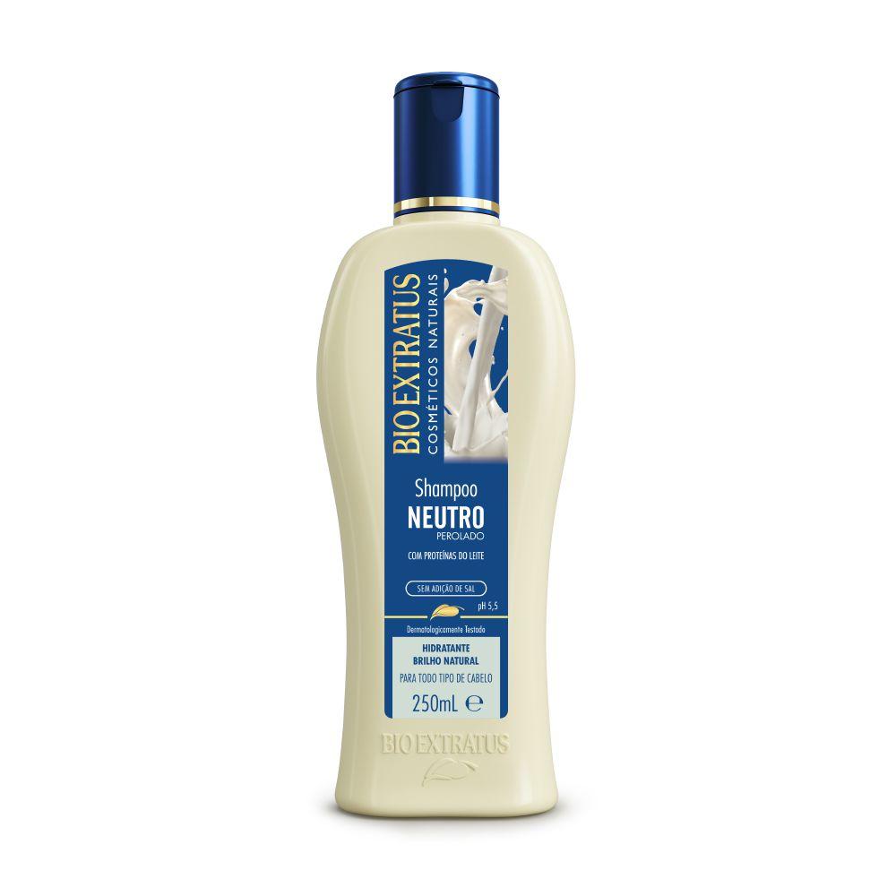 Shampoo Bio Extratus Neutro Proteínas do Leite 250ml