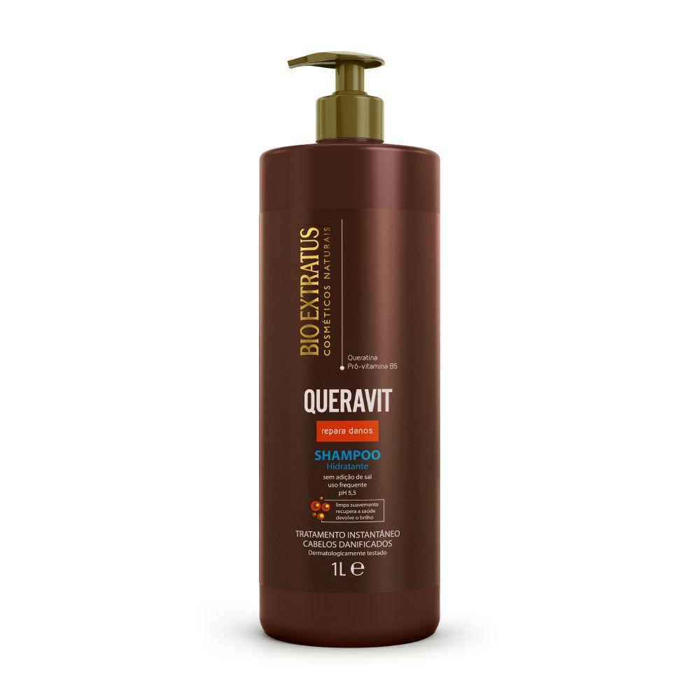 Shampoo Bio Extratus Queravit Hidratante 1L