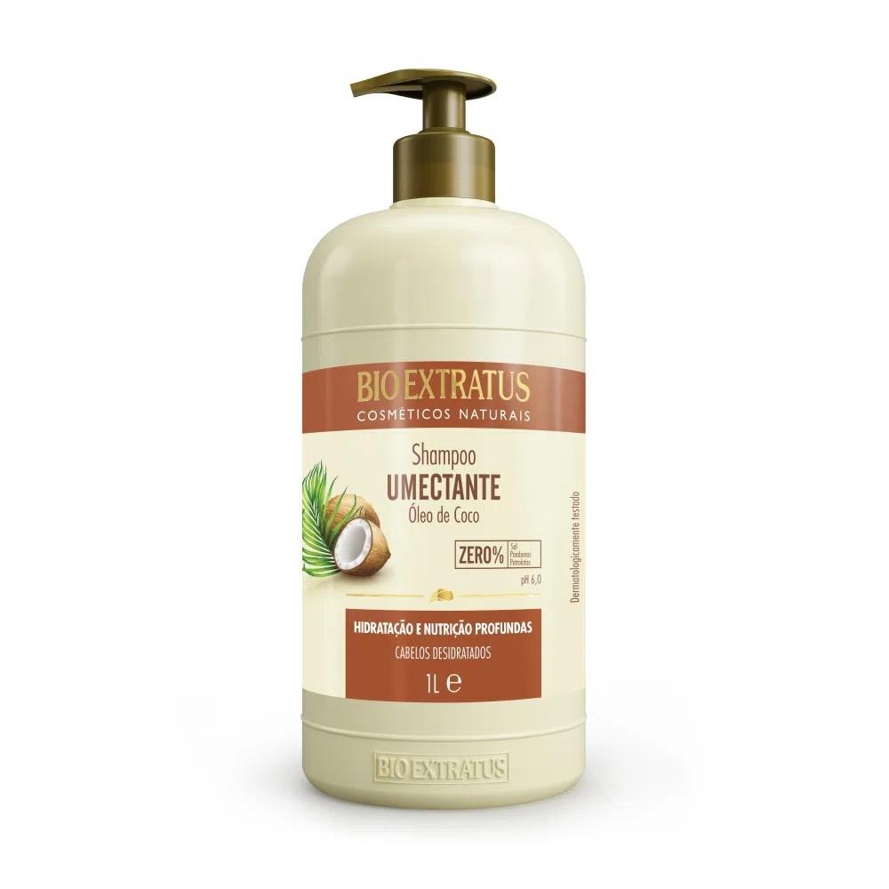 Shampoo Bio Extratus Umectante Óleo de Coco 1L